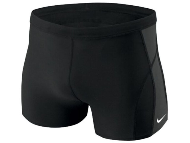 Nike Swim Poly Core Solid Boxer de bain Homme, black